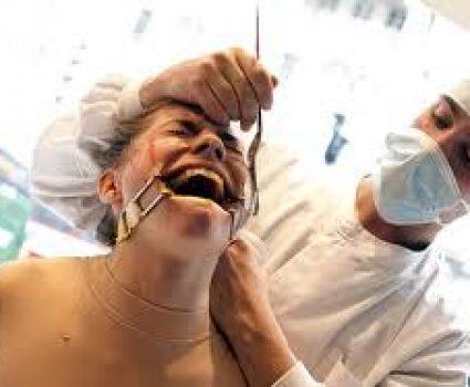 Shocking Human Display Protests Against Animal Testing, Humane Society