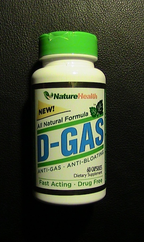 D-Gas Anti-Gas, Anti-bloating, Digestive Aid - Fast Acting Pills Review #DGASNature
