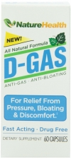 Anti-Gas & Anti-bloating, Digestive Aid - Fast Acting Pills Review #DGASNature