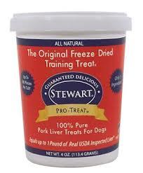 Stewart® Pro-Treat® Freeze Dried Liver Treats Review