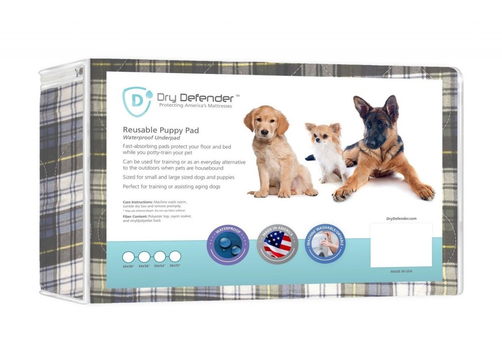 Dry Defender Reusable Puppy Pad Review