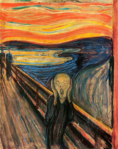 The Scream, Edward Munch
