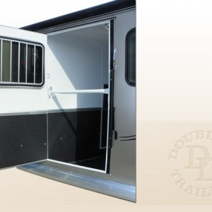 Double D 3-Horse Bumper Pull Trailer