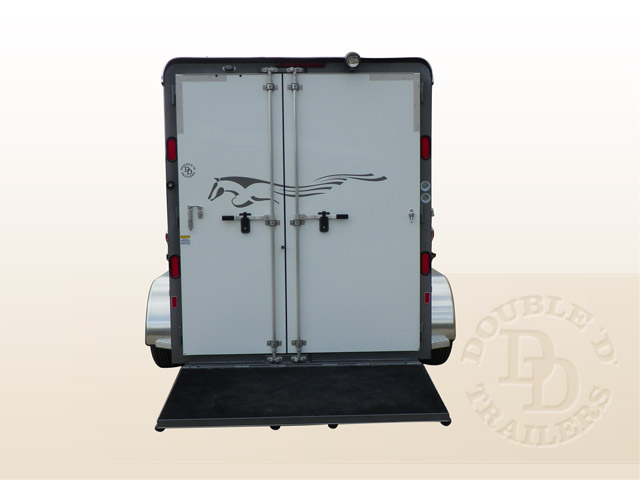 Double D Bumper Pull Horse Trailer