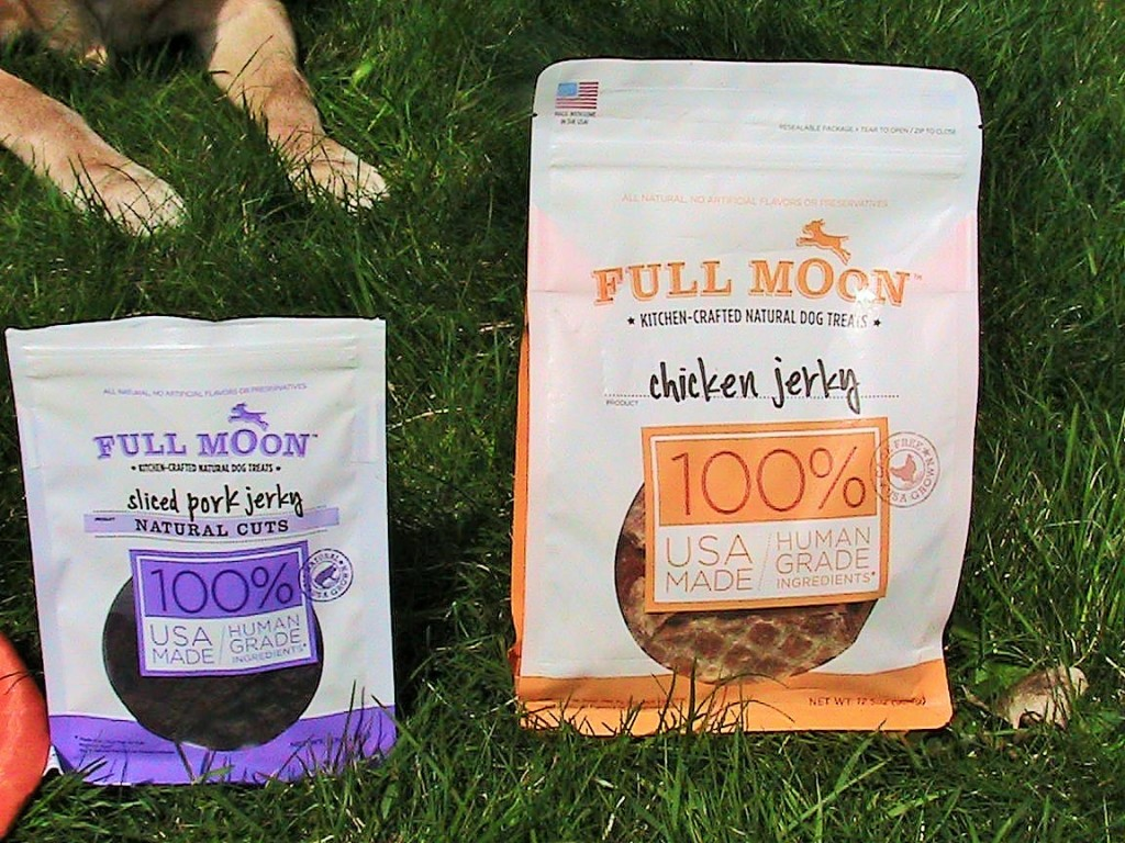 Full Moon Chicken Jerky Review
