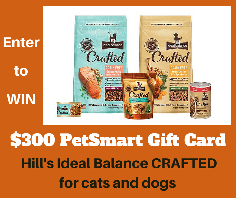 Hill's Ideal Balanced Crafted Cat Food Crafted Giveaway