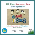 JW Pets Summer Fun Giveaway Sweepstakes, ends 7/31