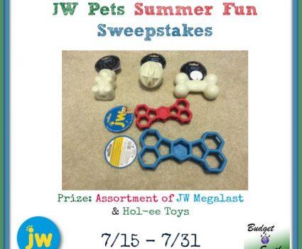 JW Pets Summer Fun Sweepstakes
