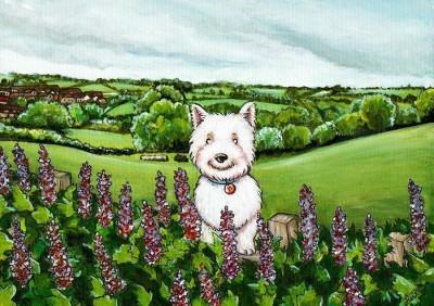 Pet Portrait Artist Lise Richardson, England