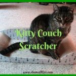 Kitty Couch Scratcher – No More Shredded Furniture!