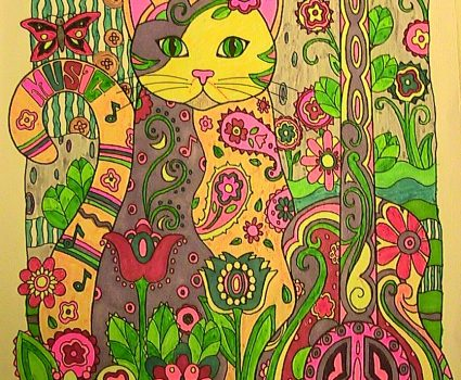 Adult Coloring Books for Animal Lovers