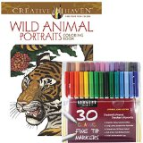 Adult Coloring Books for Animal Lovers - Wild Animal