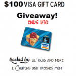 Enter Here to Win $100 Visa Gift Card Giveaway, ends 1/30