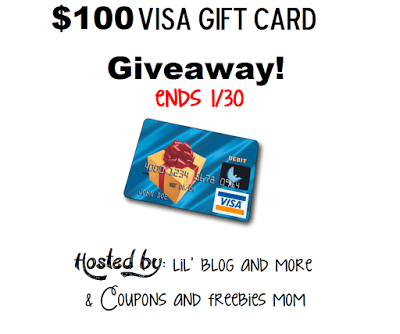 Enter Here to Win $100 Visa Gift Card Giveaway