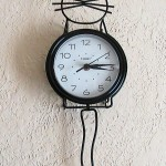 Tick Tock, Kitty Cat Clock : Wordless Wednesday