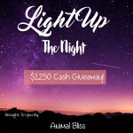 WIN Light Up The Night Giveaway – 3 Prizes, ends 8/15