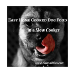 Making Easy Home Cooked Dog Food In a Slow Cooker