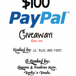 PayPal Cash Giveaway – $100, Enter Now to Win, ends 8/18