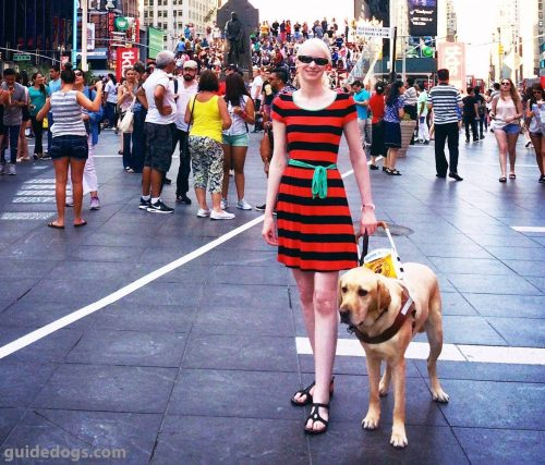 We're Celebrating National Guide Dog Month This September