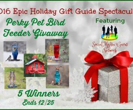 Perky Pet Bird Feeder GIVEAWAY, ends Dec. 25, 11:59 pm EST