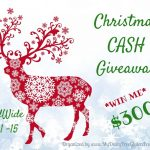 Christmas Cash Giveaway, Chance to WIN $300, ends 12/15