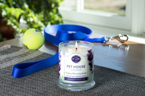 Pet House Candles, Lavender Green Tea