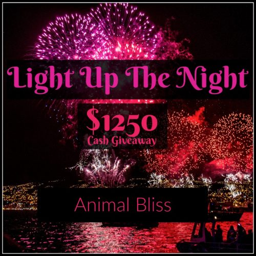 Enter our Light up the Night cash prize giveaway NOW for a chance to WIN. Three lucky winners!