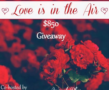 Love is in the Air Giveaway, 2 Winners, ends 2/14