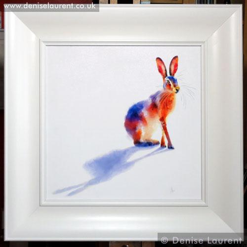 Denise Laurent is an animal portrait artist, specializing in feline portraiture.