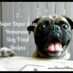 7 Super Duper Easy Homemade Dog Treat Recipes