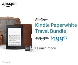Kindle Paperwhite Travel Bundle Amazon