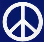 Peace Symbol, from Animal Bliss: a really cool blog about animals, domestic pets and wildlife too