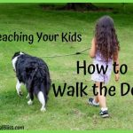 Teaching Your Kids How to Walk the Dog Safely